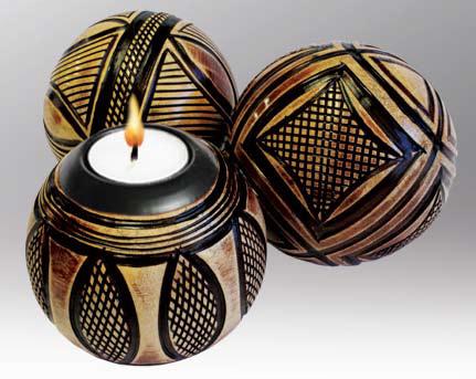 Ethiopian Deco Sphere